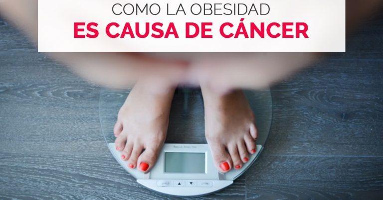 Científicos revelan que la obesidad puede causar cáncer.