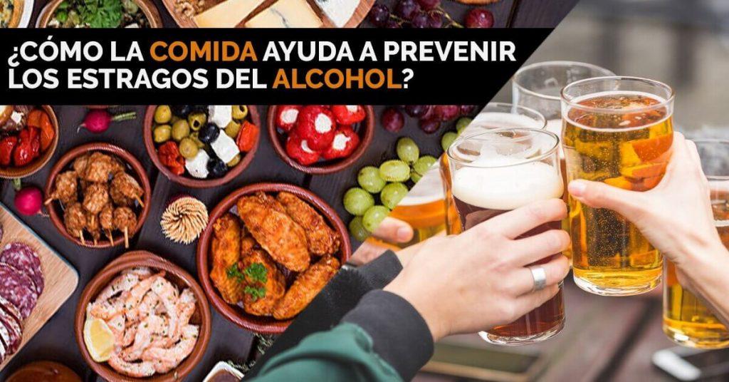 Científicos revelan como la comida puede prevenir los estragos del alcohol.