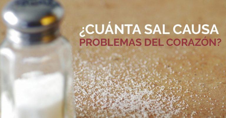Aprende como la sal puede dañar tu salud.
