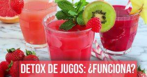 Aprende si realmente es bueno desintoxicarnos con jugos.