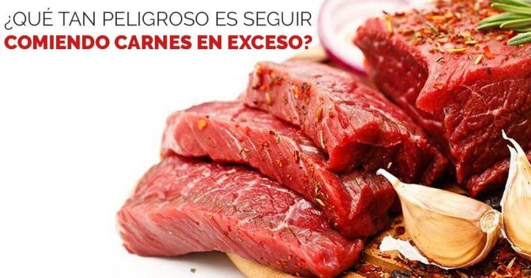 Aprende sí es peligroso comer carnes rojas en exceso.