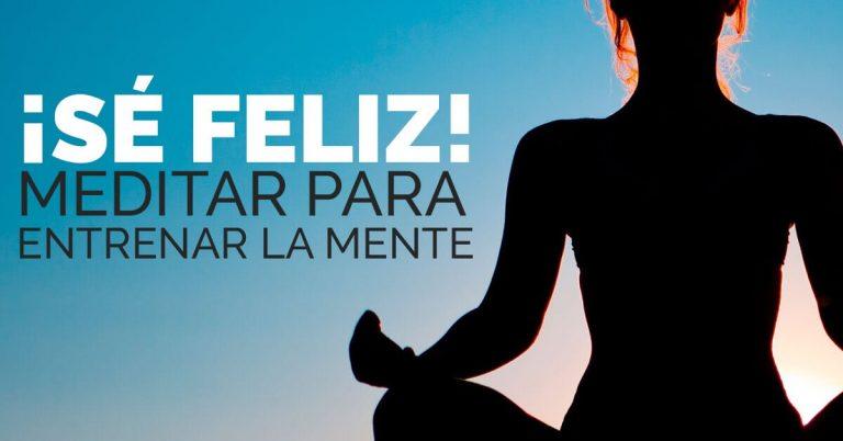 Meditar nos ayudará a bajar el estrés.