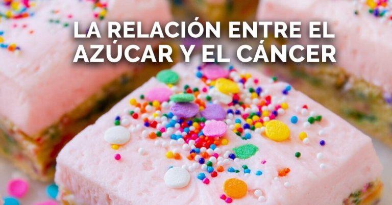 Estudios revelan la relación entre el azúcar y el cáncer.