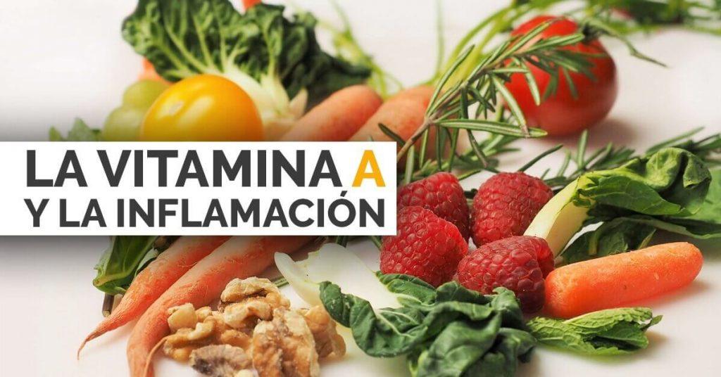 Estudios científicos revelan la relación entre la vitamina A y la inflamación.