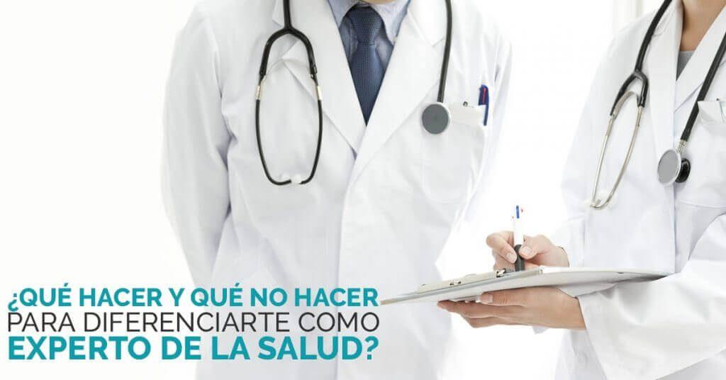 Consejos de marketing para profesionales de la salud.