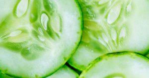 El pepino ayuda a prevenir la insolación y el cáncer.