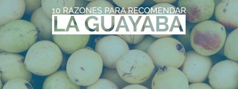 Beneficios de la guayaba para la salud.