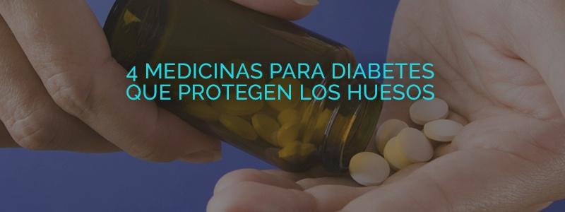 Hay medicinas para diabetes que también sirven para proteger los huesos.
