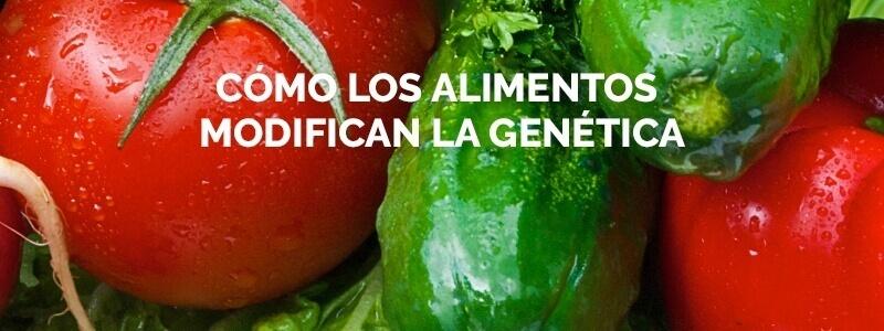 Lo que comemos cambia nuestra genética y la de nuestra descendencia.
