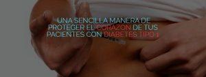 La insulina puede proteger el corazón de los pacientes con diabetes tipo 1.