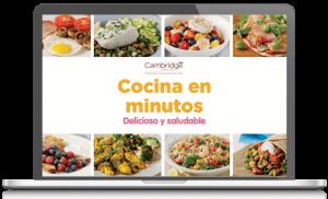 Recetario de Cocina en Minutos Delicioso y Saludable