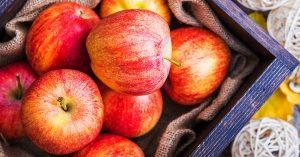 La fibra de la manzana ayuda a prevenir enfermedades renales.