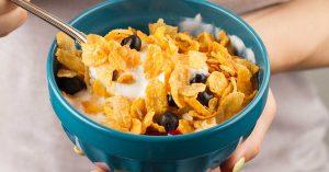 Los cereales de maíz te ayudarán contra la diabetes.