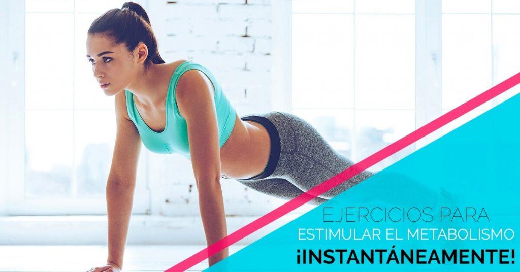 Cómo estimular el metabolismo con ejercicios simples