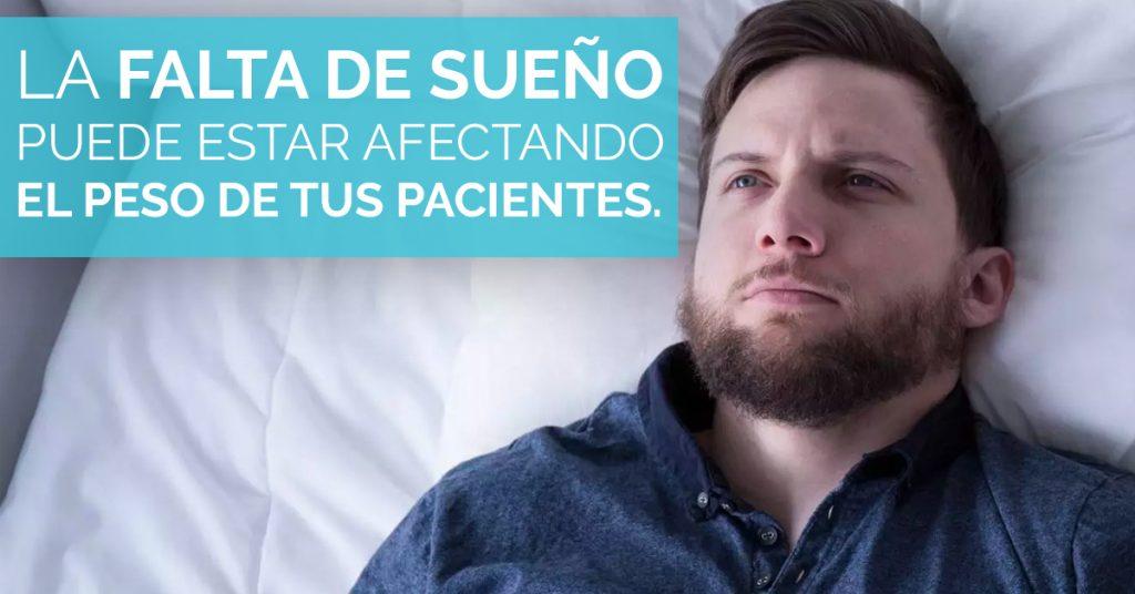 No dormir bien puede afectar el peso de tus pacientes