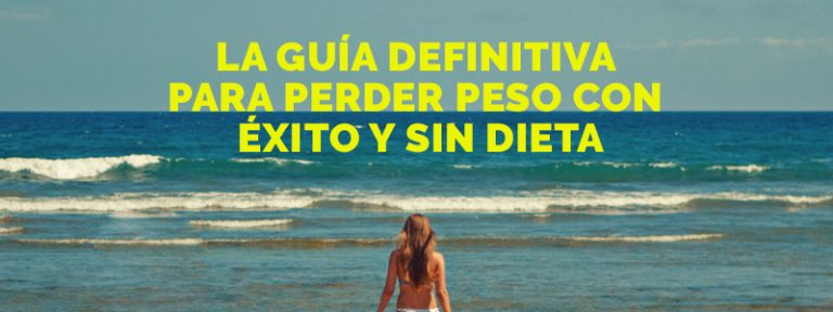 Guía para perder peso sin dietas rigurosas.
