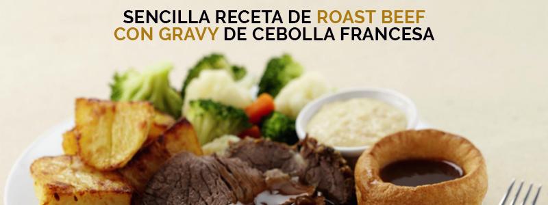 Receta de roast beef saludable para disfrutar en familia.