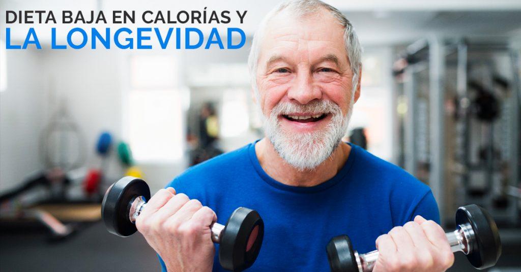 Dieta baja en calorías para la longevidad