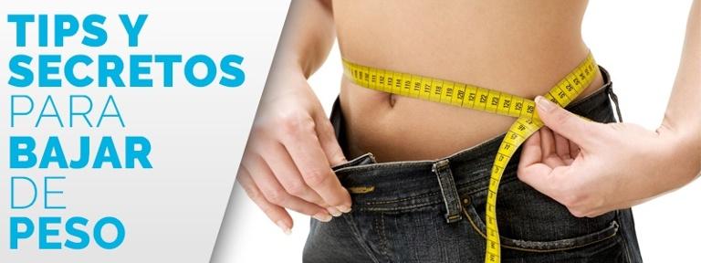 Hábitos para perder peso