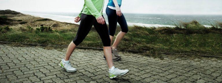 Caminar es un buen ejercicio para bajar de peso
