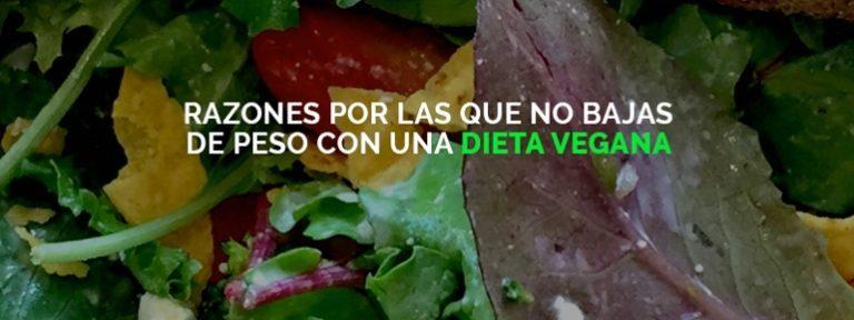 Dieta vegana para bajar de peso