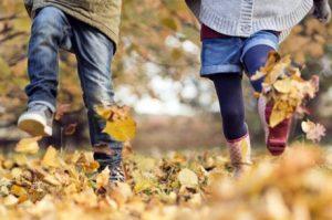 Actividad física con niños