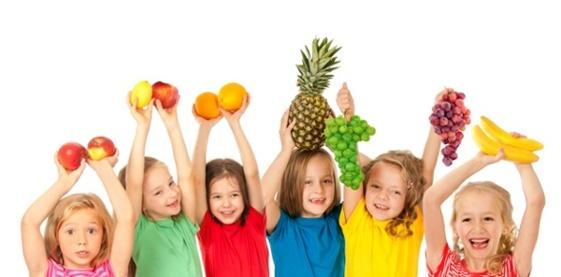 Alimentación de los niños