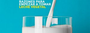 Leche vegetal beneficios
