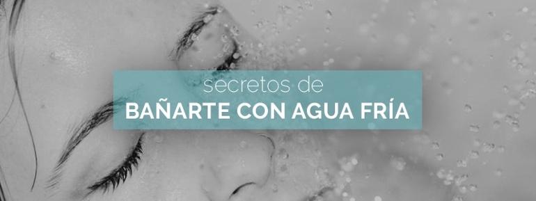 Beneficios del agua fría