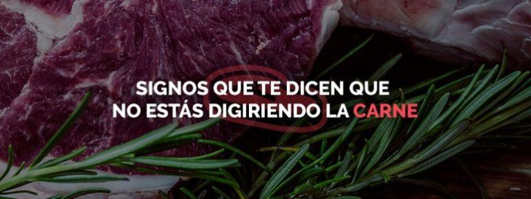 ¿Debes dejar la carne?