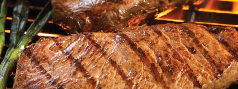 Carne asada sin culpas