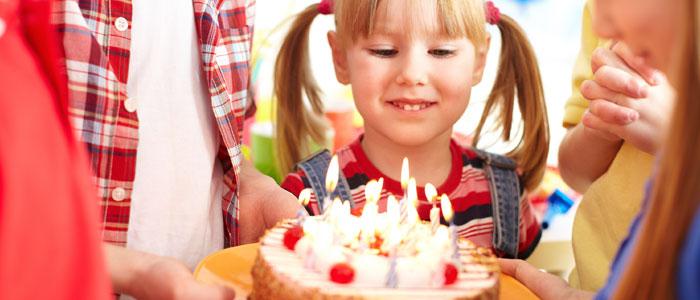 Fiesta saludable para niño diabético
