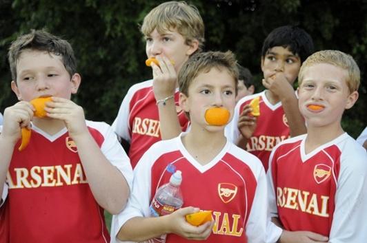 Dieta de futbolistas