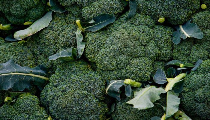 El brócoli es bajo en calorías