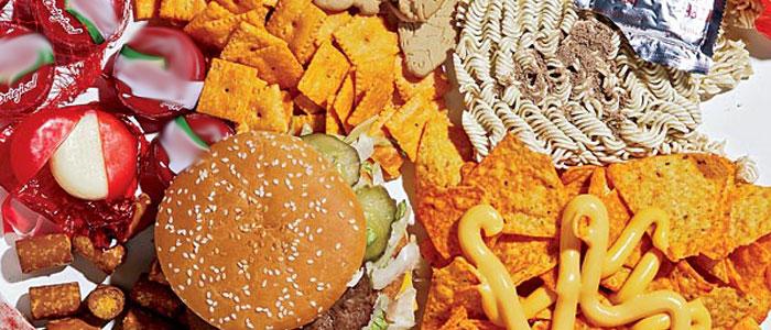 Los alimentos procesados dañan la salud
