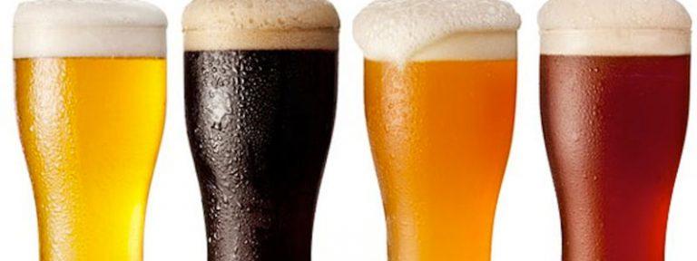 Información nutricional de una cerveza