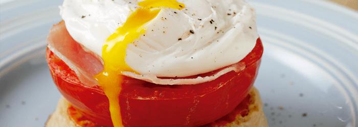 Receta de huevos saludables