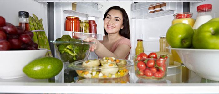 Alimentos refrigerados saludables
