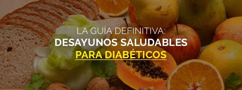 Desayunos para diabéticos