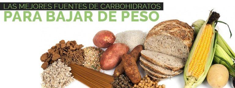 Carbs para pérdida de peso