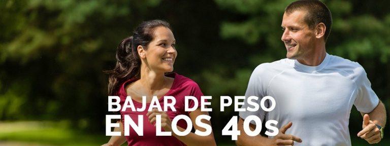 Perder peso a los 40