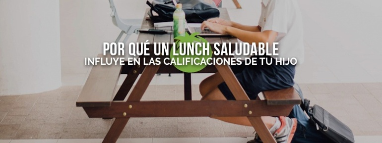 Prepara un lunch saludable