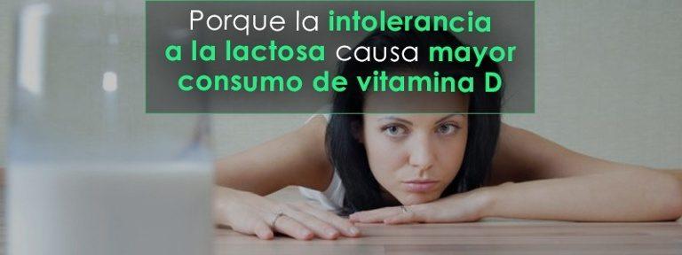 La intolerancia a la lactosa