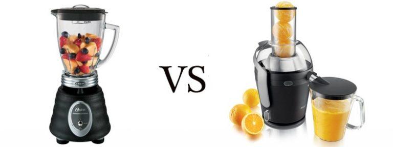 Diferencias entre jugos y licuados