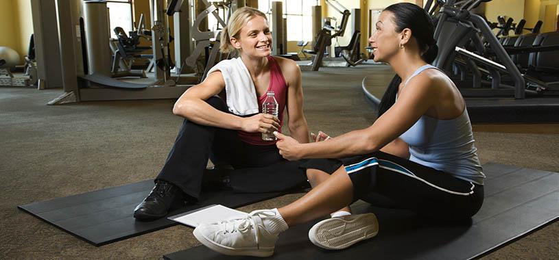Hacer ejercicio con amigas es más efectivo