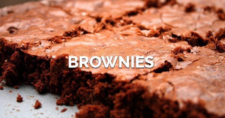 Brownies bajos en calorías