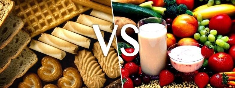 Los carbohidratos se dividen en simples y complejos.