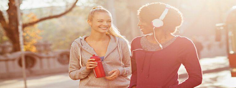 Los amigos nos motivan a hacer ejercicio