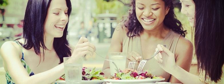 Es posible no subir de peso comiendo fuera