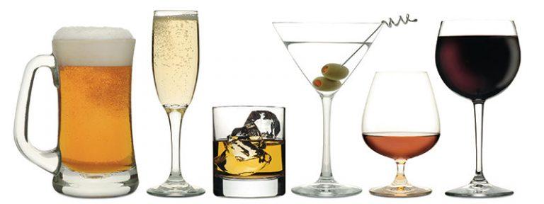 Las calorías del alcohol